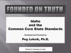 Peg Luksik's Idaho Presentation